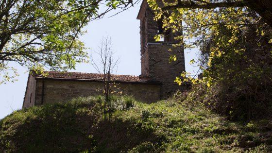 Montebotolino - particolare del campanile