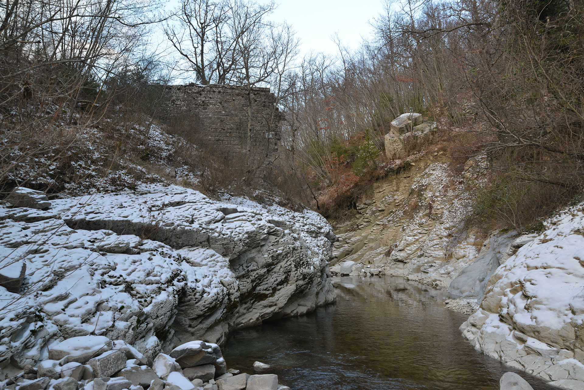Marecchia - resti ponte romano
