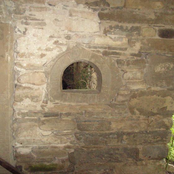 Le antiche case in pietra - particolare
