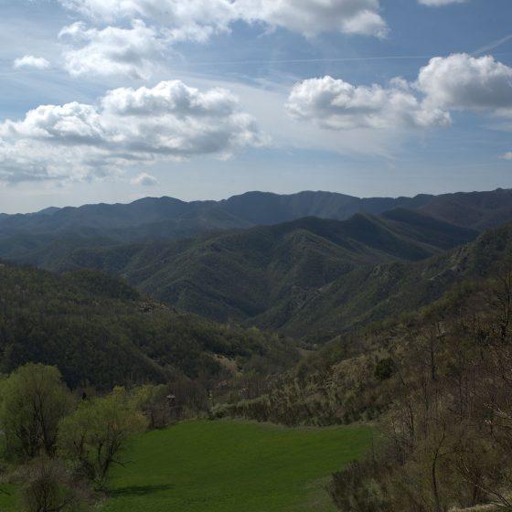 Valle dell'Auro da Montelabreve a Parchiule